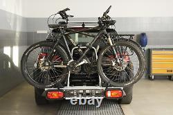 Pliable porte-vélos sur attelage pour 2 vélos Amos Giro 2 (13-PIN) 45 kg