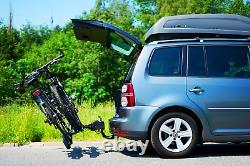 Pliable porte-vélos sur attelage pour 2 vélos DGH System STORM 2 30 kg