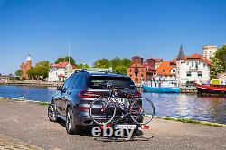 Pliable porte-vélos sur attelage pour 2 vélos Modula E-ROICA NEW E-BIKE 2 45 kg