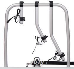 Pliable porte-vélos sur attelage pour 3 vélos Fabbri Easy Bike Fast 45 kg