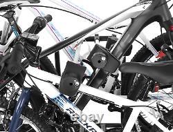 Pliable porte-vélos sur attelage pour 4 vélos Aguri Active Bike 3 SILVER 60 kg