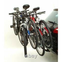 Polaire PVS4-AREA POLAIRE Porte-vélo Peruzzo Arezzo pour 4 vélos fixation