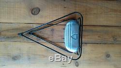 Porte Bagage avec sacoche boite à outil alu pour vélo ancien peugeot