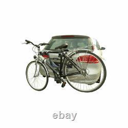 Porte-Vélos Pour 2 Vélos Sur Attelage de Remorque Galerie Et Éclairage