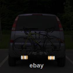 Porte-Vélos Sur Attelage Pour 2 Vélos Avec Conception Intelligente De Basculeme