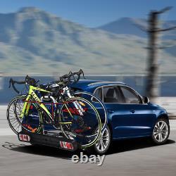 Porte-Vélos Sur Attelage Pour 2 Vélos Avec Conception Intelligente De Sculement