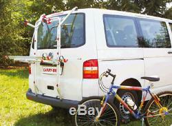 Porte-Vélos VW Bus Bulli T5 Carry-Bike Pro Fiamma pour Deux Vélos