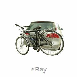 Porte-Vélos pour 2 Vélos sur Attelage de Remorque Galerie, et Éclairage