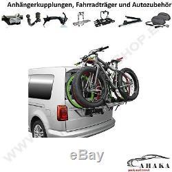 Porte-Vélos pour Hayon 3 Vélos VW Caddy IV / Life / Tous Suivre 2015