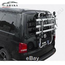 Porte-Vélos pour Hayon 3 Vélos VW T5 Transporter Bus Boîte 2003-2015