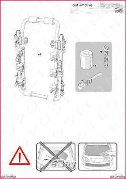 Porte-Vélos pour Porte de Coffre à Bagage Arrière Trois Sièges Mitsubishi Lancer