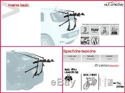 Porte-Vélos pour Porte de Coffre à Bagage Arrière Trois Sièges Suzuki Vitara 15