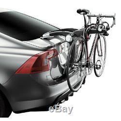 Porte-Vélos pour Voiture Arrière Aluminium Vélos Bike Transport 2 Vélo Thule