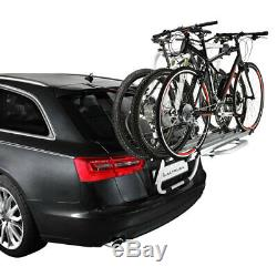 Porte-Vélos pour Voiture Arrière Aluminium Vélos Bike Transport Althura