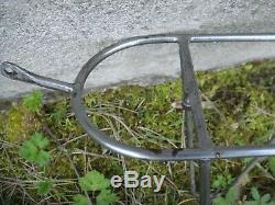 Porte bagage avant vélo 1950's pour 650B, belle qualité (herse/goeland)