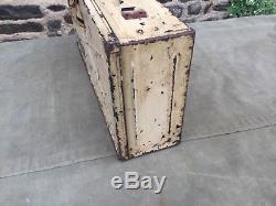 Porte caisse camouflé pour vélo wh truppenfahrad 39/45
