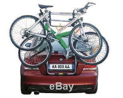 Porte-vélo Arrière Alu Torbole 3 Pour 3 Vélos Pour Kia Rio 2005-2010