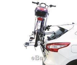 Porte-vélo Bici Ok 2 Pour 2 Vélos Electriques Pour Nissan Qashqai+2 Depuis 2008