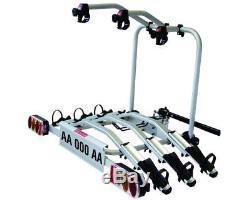 Porte-vélo Pour Crochets Dattelage Fabbri Tech-pro Bike 3 Vélos Fix. Fast