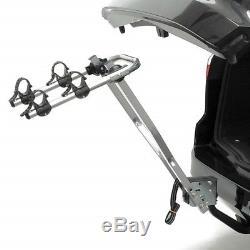 Porte vélo d'attelage PERUZZO arezzo inclinable pour 2 vélos avec emplacement