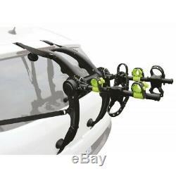 Porte vélo universel pour hayon et coffre 3 vélos