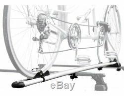 Porte-vélos De Toit Pour Tandem Peruzzo Roma En Aluminium Fixation À Cadre