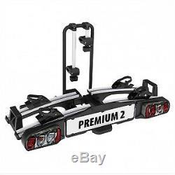 Porte-vélos Eufab Premium II pour 2 vélos