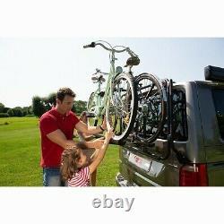 Porte-vélos Noir pour VW Transporter T6 PRO avec hayon CARRY BIKE FIAMMA ve