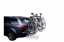 Porte-vélos de coffre suspendu THULE Clip On 9104 pour 3 vélos