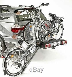 Porte-vélos pour vélos électriques sur attelage plateforme MOTTEZ A028P2