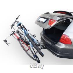 Porte-vélos sur Attelage pour 2 Velos Menabo Project Tilting