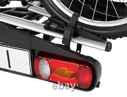 Porte-vélos sur attelage pour 2 vélos Aguri Active Bike 2 BLACK