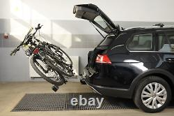 Porte-vélos sur attelage pour 2 vélos Amos Tytan 2 (7-PIN)