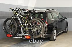 Porte-vélos sur attelage pour 3 vélos Amos Tytan 3 (13-PIN)