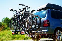 Porte-vélos sur attelage pour 3 vélos DGH System STORM 3