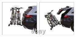 Porte-vélos sur attelage pour 3 vélos Fabbri Easy Bike Fast