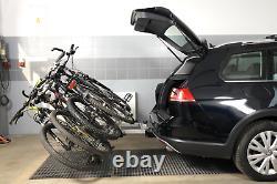 Porte-vélos sur attelage pour 4 vélos Amos Tytan 4 (13-PIN)