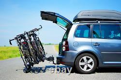 Porte-vélos sur attelage pour 4 vélos DGH System STORM 4