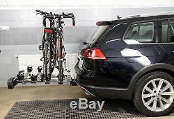 Porte-vélos sur attelage pour quatre 4 vélos AMOS GIRO 4 + TROIS EN GRATUIT