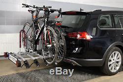 Porte-vélos sur attelage pour quatre 4 vélos AMOS TYTAN 4 + UN GRATUIT