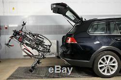 Porte-vélos sur attelage pour quatre 4 vélos AMOS TYTAN 4 + un cadeau