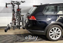 Porte-vélos sur attelage pour trois 3 vélos AMOS GIRO 3 + TROIS EN GRATUIT