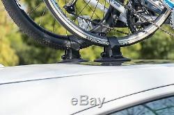 ROCKBROS Porte de Vélo pour Toit Voiture Fixation Ventouse Type Porte 1 2 3 Velo