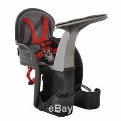Siège Porte-bébé Enfant Pour Vélo 5 sangle de Sécurité points repose-pieds