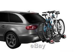 THULE 925001 Porte Vélo VeloCompact 925 7 Broches pour 2 Vélos à Monter