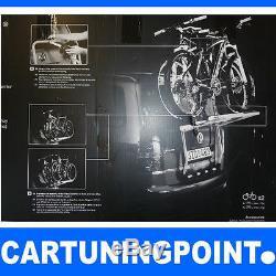 THULE Galerie, Porte-Vélos arrière pour 2 vélos dos paquet 973 973-15 Argent
