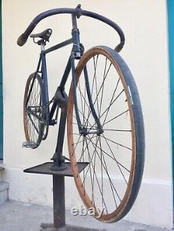 Trépied Porte Velo Pour Mécanique Ancien Garage No Cycles Peugeot Alcyon