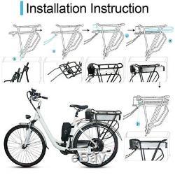 UPP 36 V 15 Ah Vélo Électrique Porte-Bagages pour Bicyclette Batterie + Chargeur