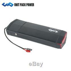 UPP Batterie de vélo électrique 36V 14,5Ah 522Wh + Porte-Bagages + Chargeur pour
