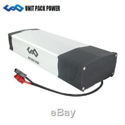 UPP Batterie de vélo électrique 48 V 20Ah 960Wh + Porte-Bagages + Chargeur pour